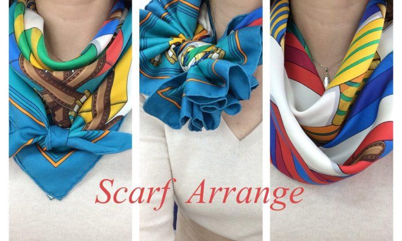 scarf-arrange
