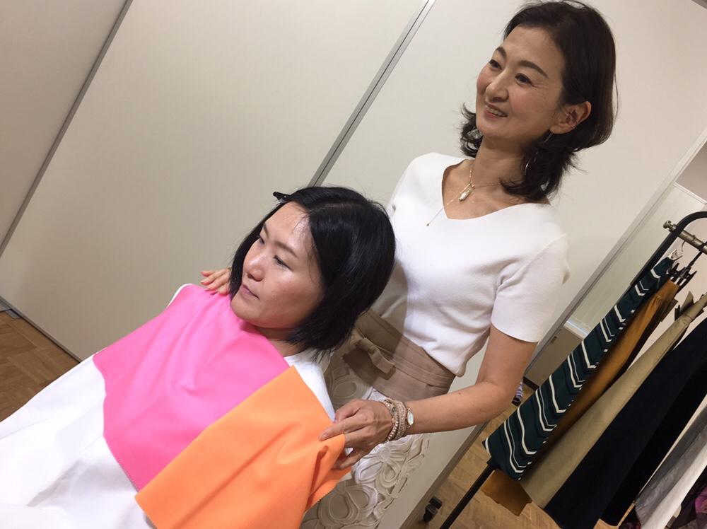 パーソナルカラー診断 イエローベース ブルーベース お顔映りの変化