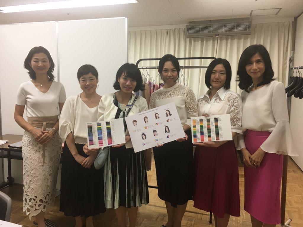 東武船橋店にてパーソナルカラー診断 骨格診断 個人コンサル