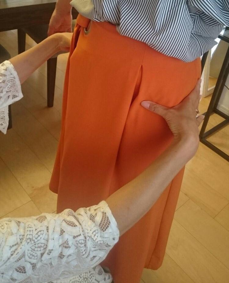 東武船橋店にて骨格診断 似合うスカート