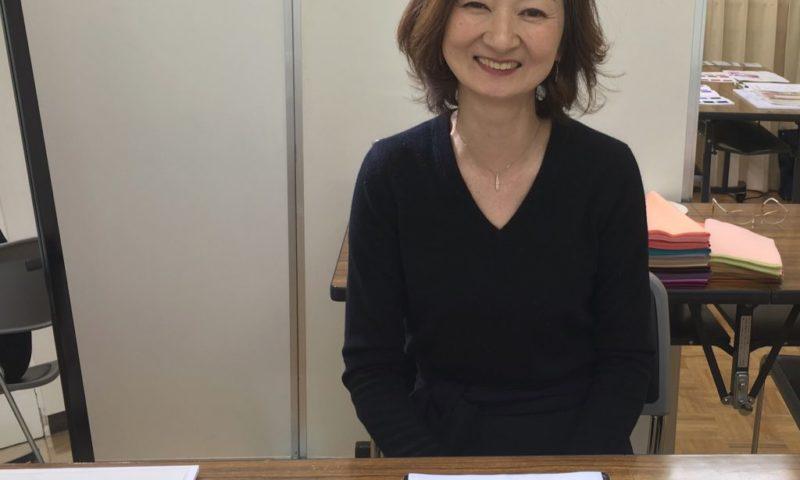 東武船橋店のイベントでパーソナルカラー診断&メイクレッスンの個人コンサル