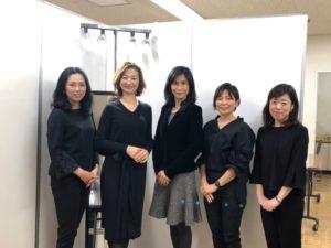 東武船橋店にて、講師5人でパーソナルカラー診断&メイクレッスンを開催
