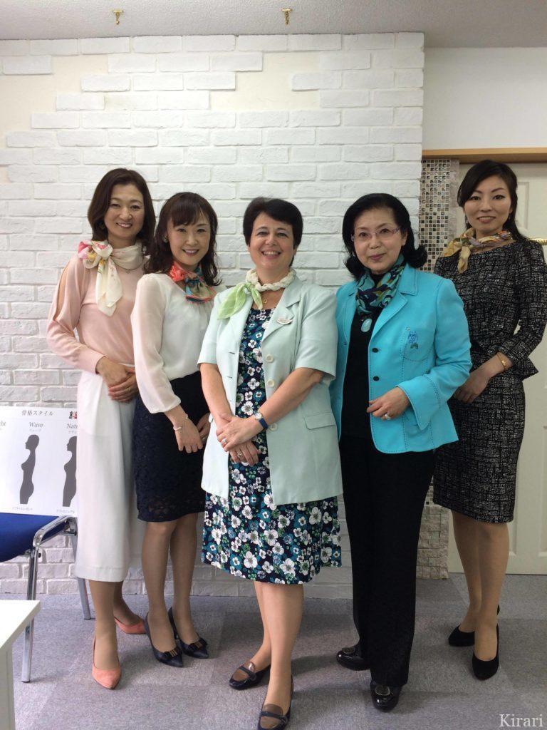 日本スカーフコーディネーター協会認定講師